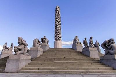 The Vigeland Park Oslo