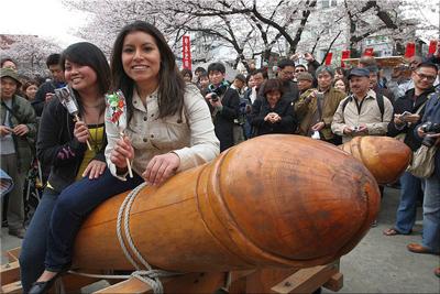 Kanamara Matsuri Phallus Festival Japan