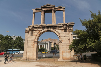 Arch of Hadrian Athens Greece Gates