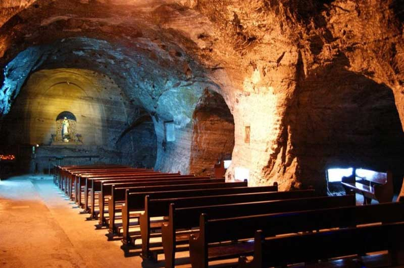 salt cathedral of zipaquir colombia