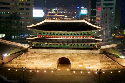 Sungnyemun Gate Seoul South Korea