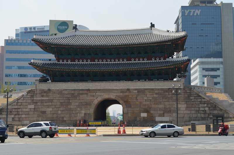 sungnyemun gate seoul south korea