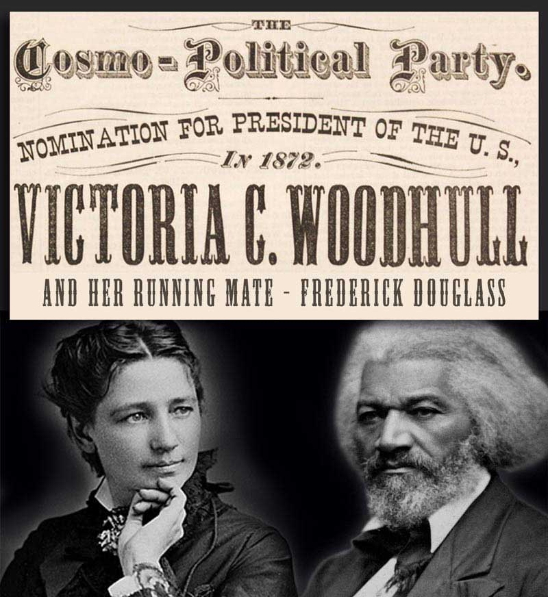 first woman US presidential candidate