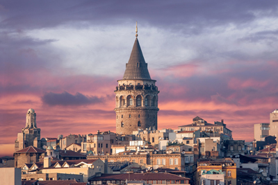 Galata Tower Turkey Historical  Famous