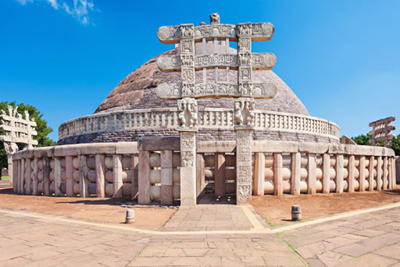 Sanchi Stupa Bhopal India Gate