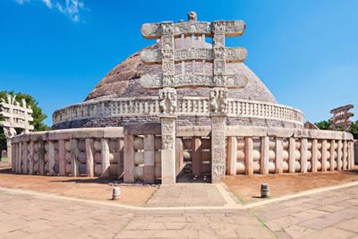 Sanchi Stupa Bhopal India Gate