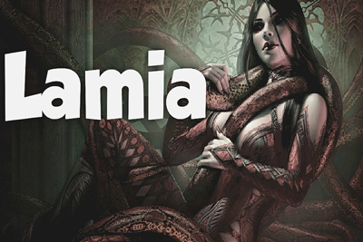 Lamia Mythical Monsters