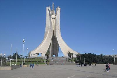 Martyrs Memorial Algiers Famous Columns towers