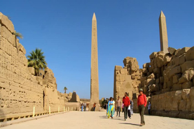 Queen Hatshepsut Obelisk Egypt Columns towers