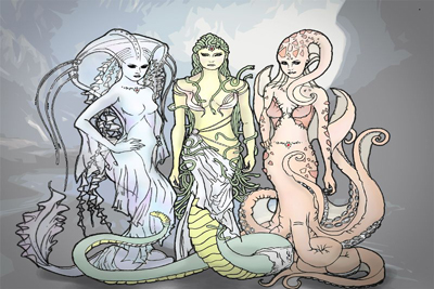 Gorgons Mythical Monsters