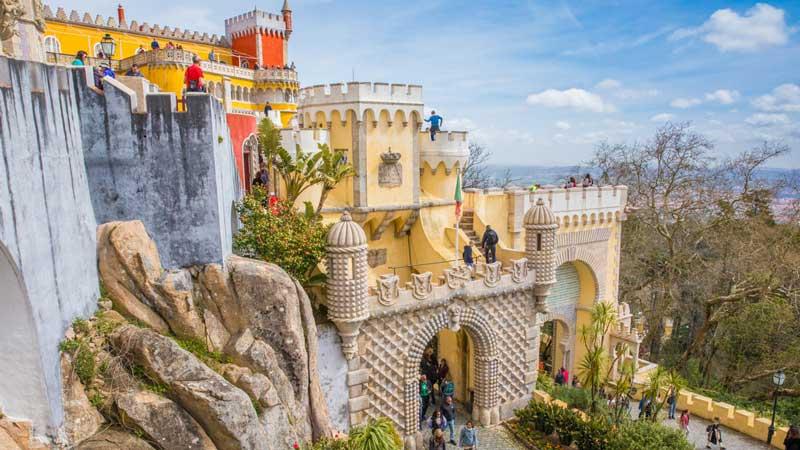 pena national palace sintra portugal