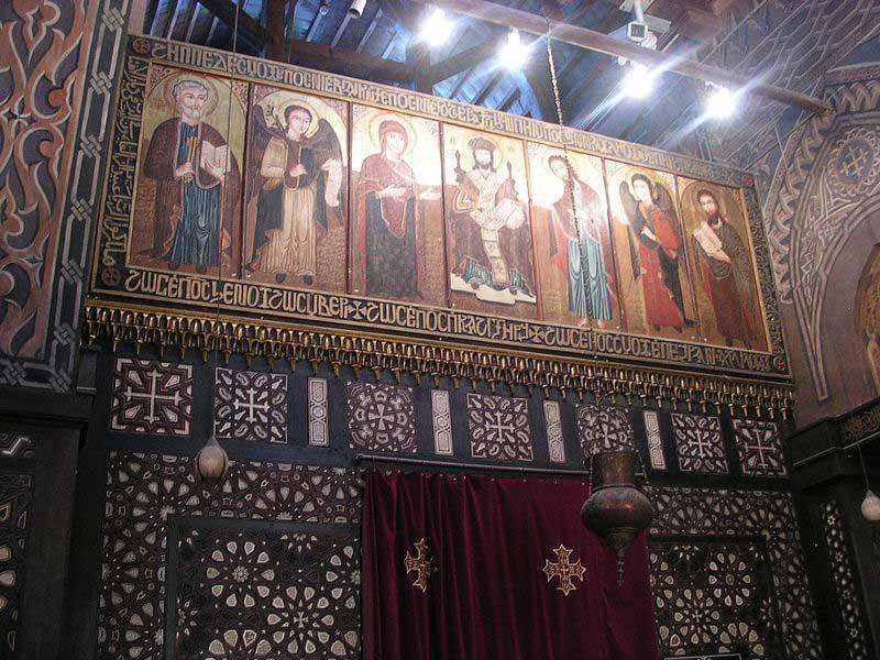 the hanging church cairo egypt