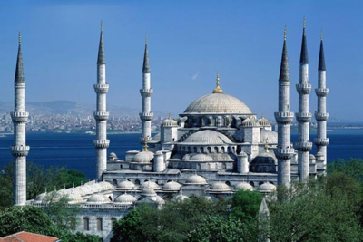 Blue Mosque Istanbul0 Turkey