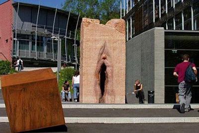 Giant Stone Vagina Tubingen Germany