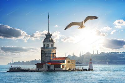 Maidens Tower Turkey