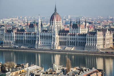 National Parliament Budapest Hungary Landmarks