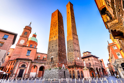 Two Towers Bologna Italy