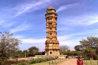 Vijay Stambha Chittorgarh India