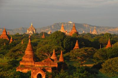 Bagan Mandalay Region Myanmar Haunting Heritage