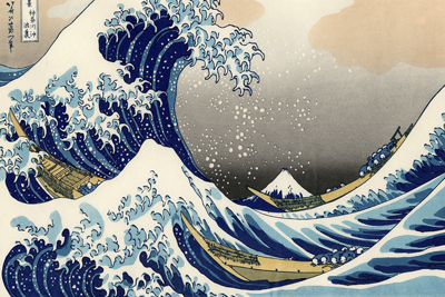 Great Wave off Kanagawa Paintings