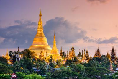 Shwedagon Pagoda Yangon Myanmar Landmarks