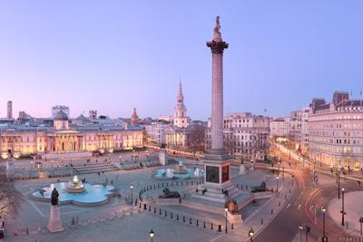 Trafalgar Square London England City Squares