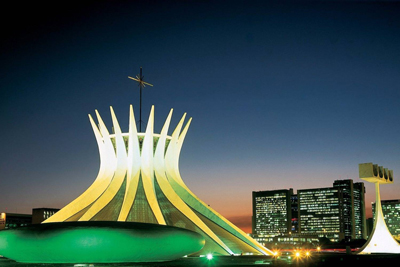 Cathedral Brasilia Brazi Famous Churches
