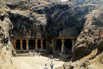 Elephanta Caves Maharashtra India Heritage