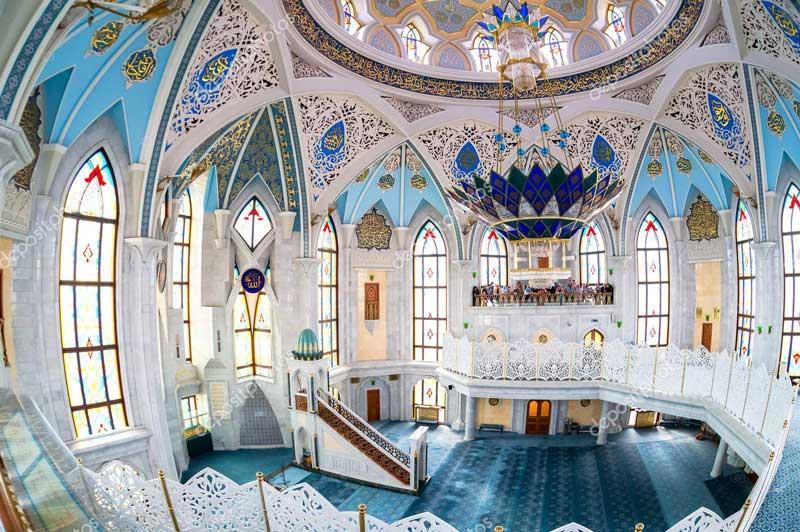 kul sharif mosque kazan russia