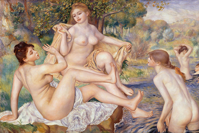 Large Bathers Paintings