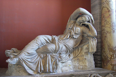 Sleeping Ariadne Scintillating Sculpture
