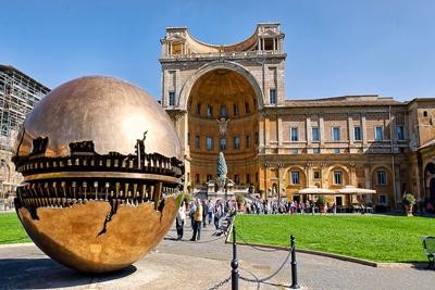 Vatican Museums Vatican City Italy
