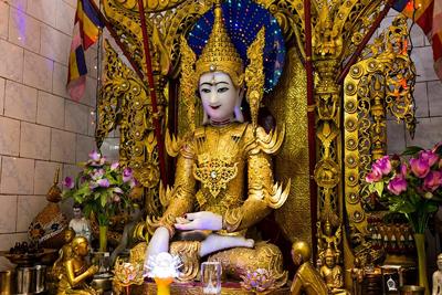 Burmese Buddhist Temple Calcutta