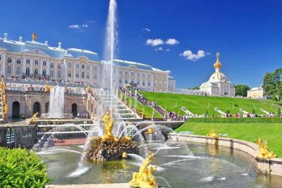 Peterhof Palace St Petersburg Russia