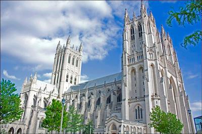 Washington National Cathedral DC USA