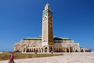 Hassan Mosque. Morocco