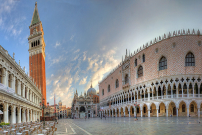 Piazza San Marco, Venice, Italy City Squares