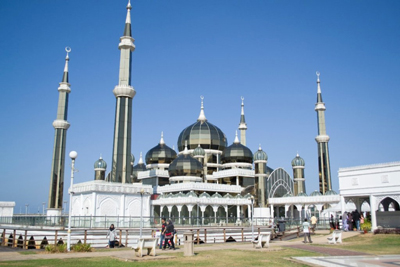 Crystal MosqueTerengganu Malaysia