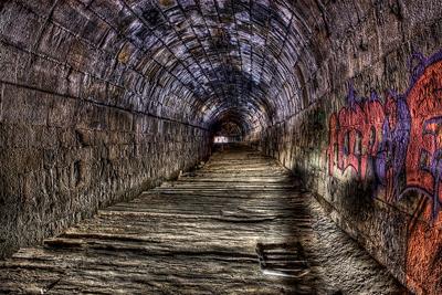 Screaming Tunnel Ontario Canada