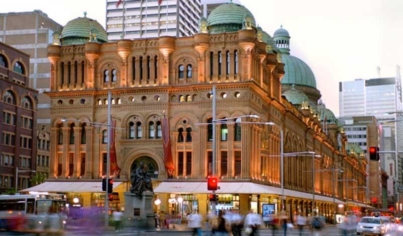 queen victoria building sydney australia