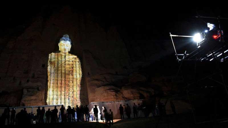 buddhas of bamyan hazarajat afghanistan