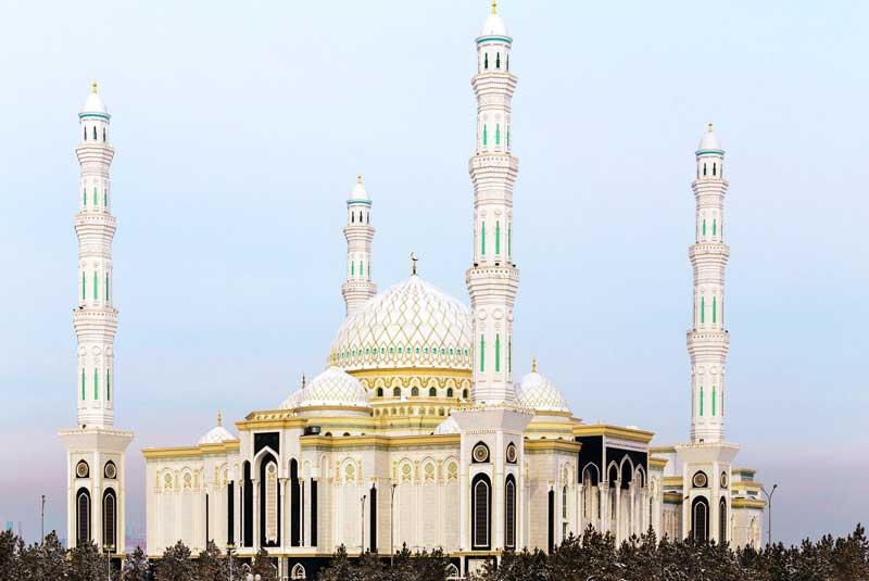 hazrat sultan mosque nursultan kazakhstan