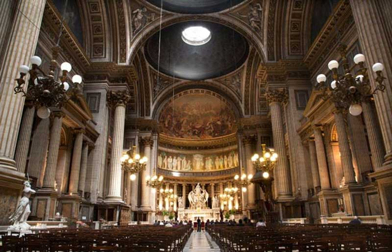 madeleine church paris france
