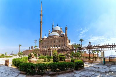 Mosque Muhammad Ali Pasha Cairo Egypt