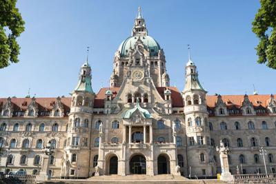Neues Rathaus Hanover Germany