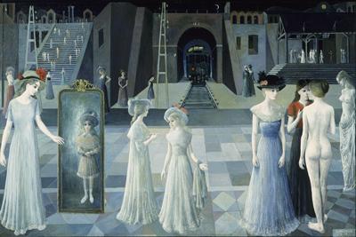 Few Famous Paintings Paul Delvaux (Part II)